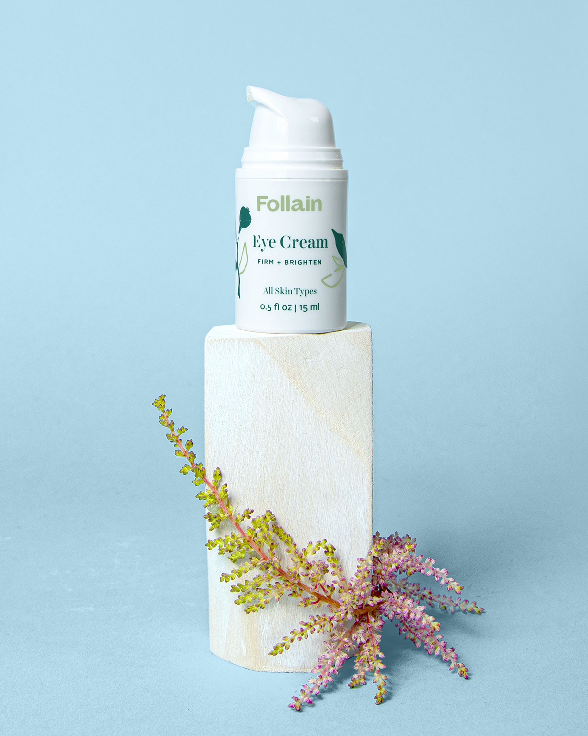 Follain Eye Cream: Firm + Brighten 0.5oz