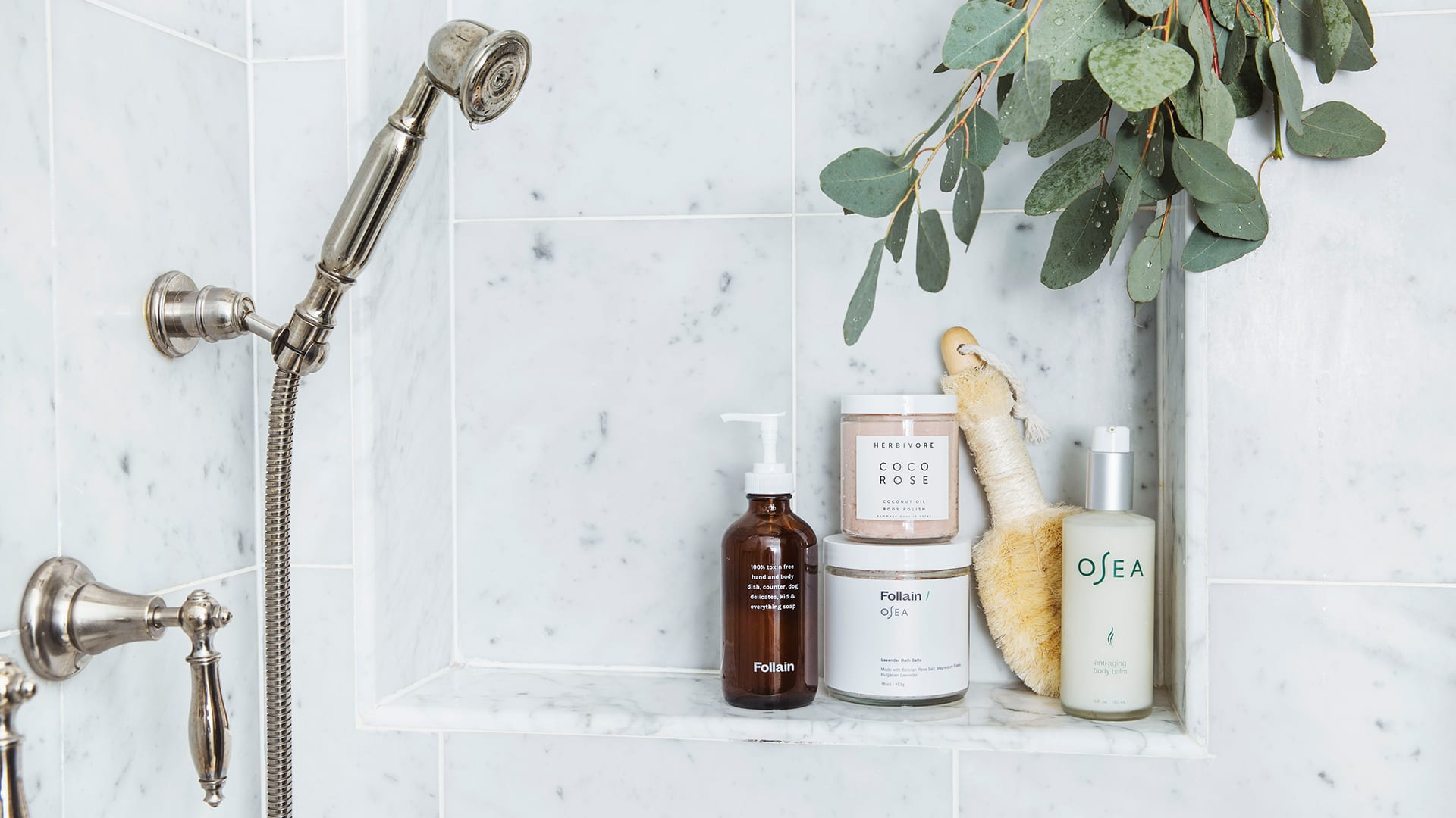 Bath and Shower Products from Follain