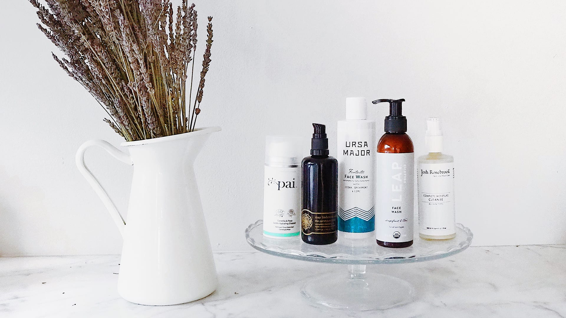 Nontoxic facial cleansers