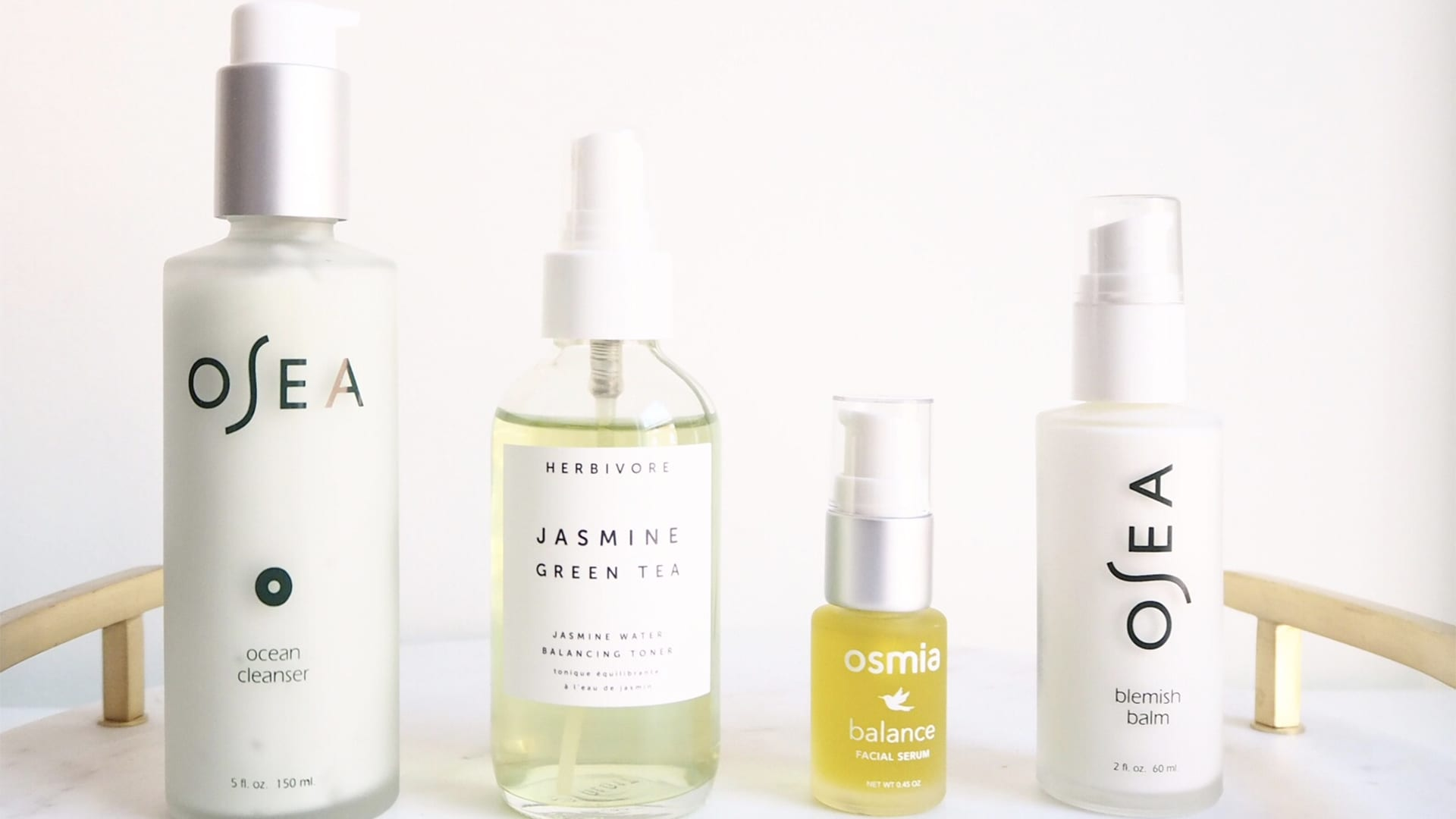 Clean beauty products for acne