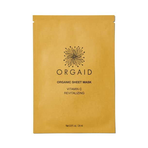 Orgaid Organic Sheet Mask - Vitamin C Revitalizing