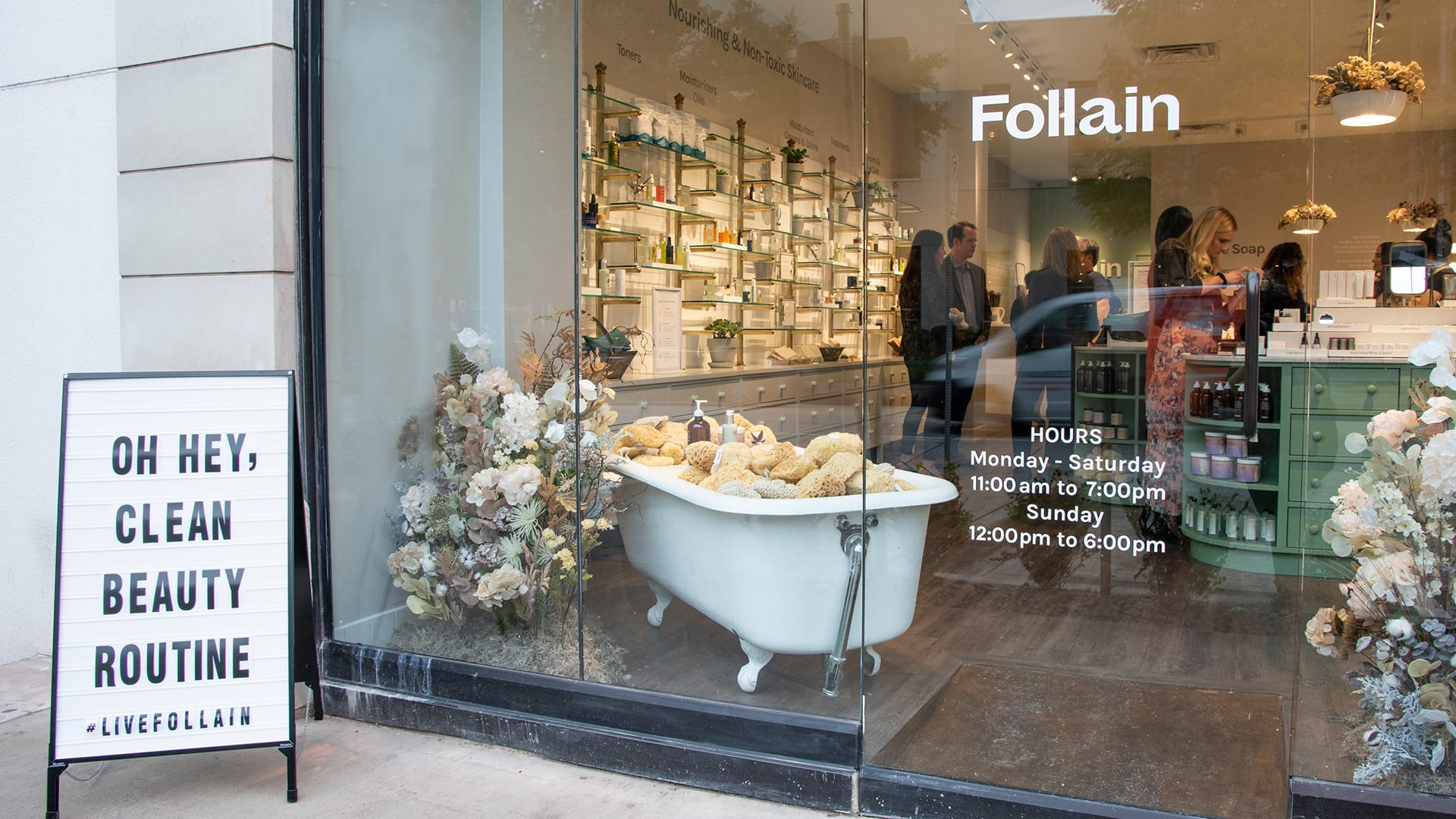 Follain Dallas Store Opening