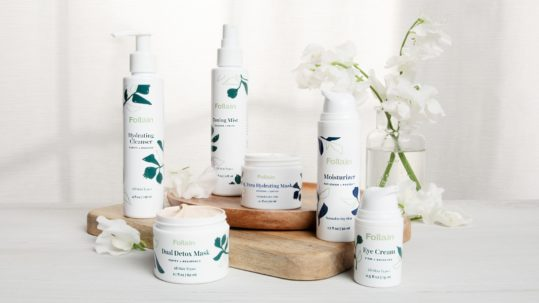 Follain skincare collection - clean beauty skincare